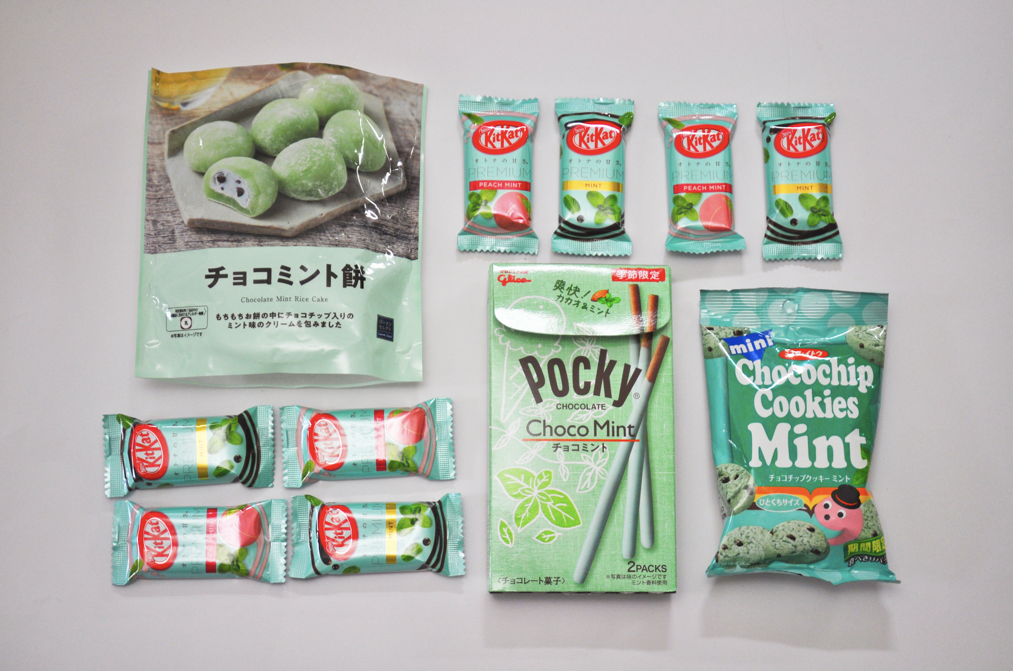 Mint chocolate is trending in Tokyo right now