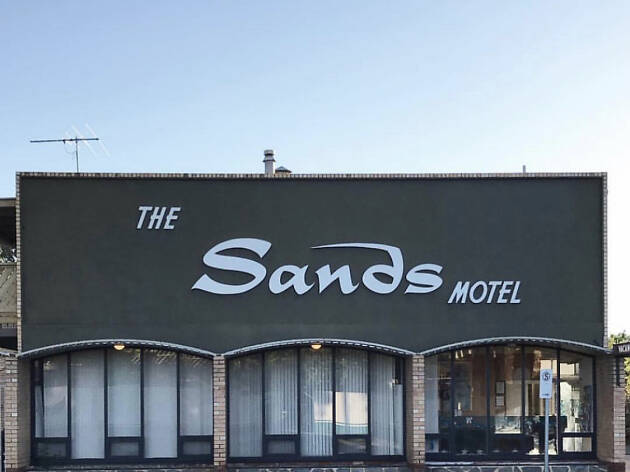 The Sands Motel retro motels feature 2019