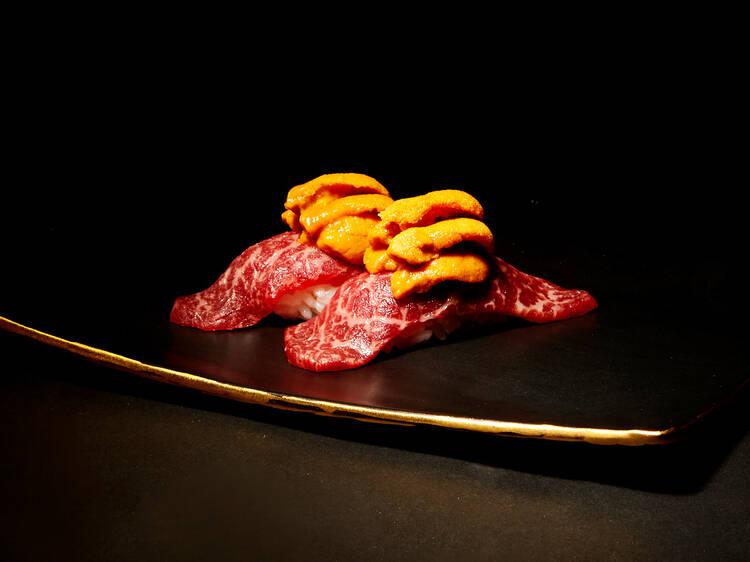懷石料理形式吃頂級和牛