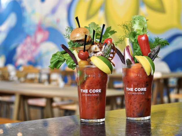 Crazy Bloody Mary at The Core Kitchen/Space