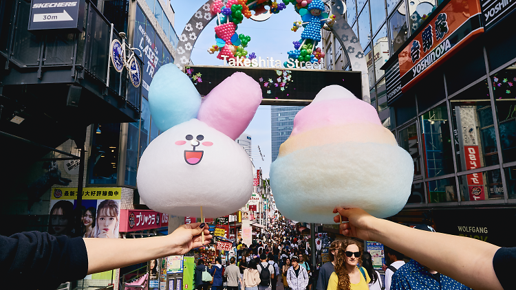 Cotton candy from Momi & Toys Harajuku