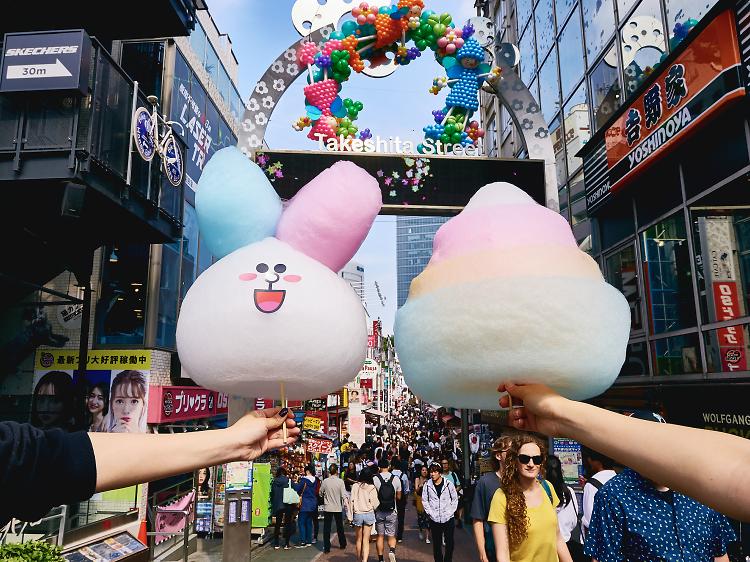 Snack your way through Harajuku