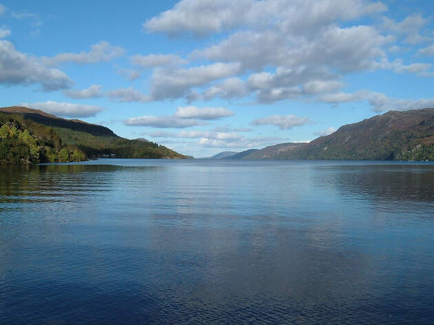 A view over Loch Ness from Port Augustus