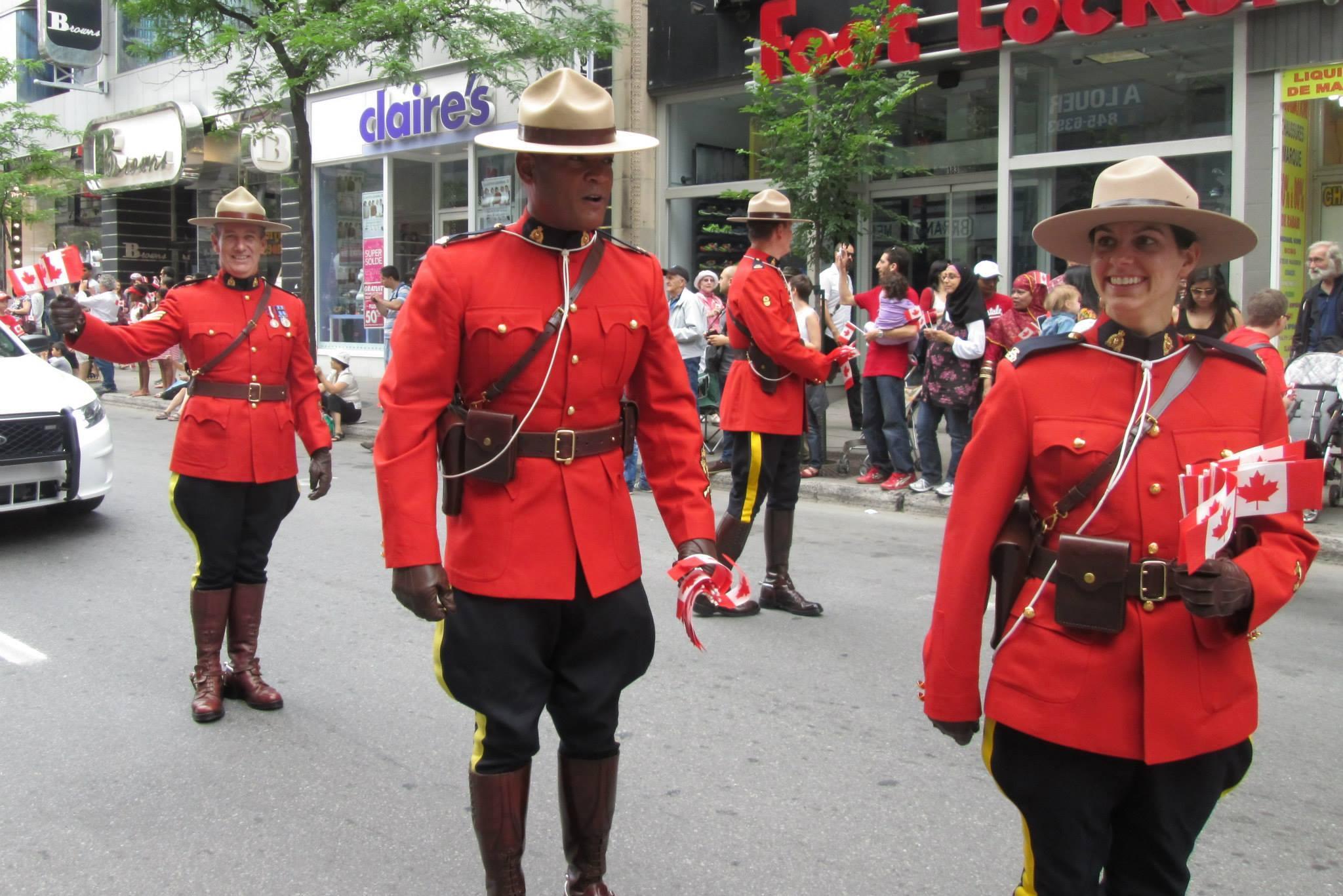 Montreal Canada Day Parade