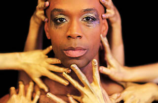 Jason C. Brown in The Bacchae (Classical Theatre of Harlem)