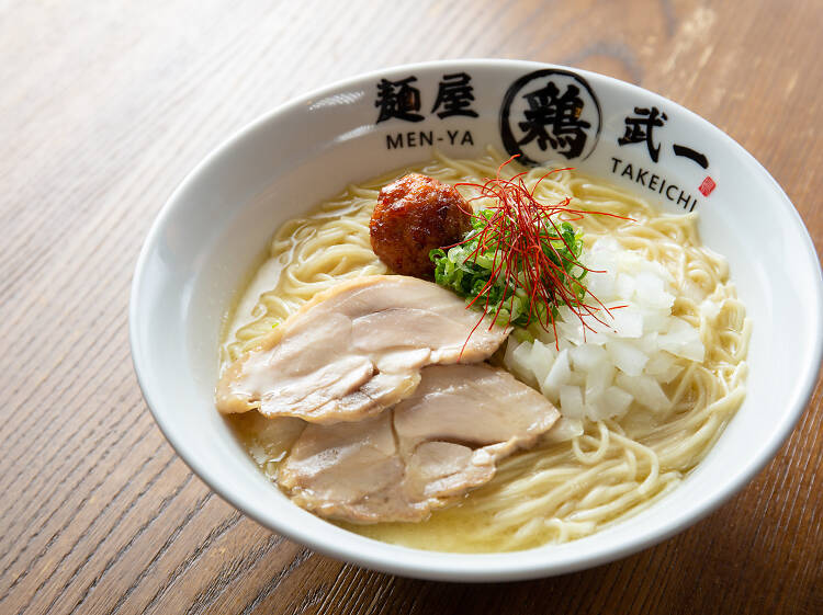 麺屋武一:清雞湯底
