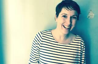 Scientist Kate Delvin smiling.