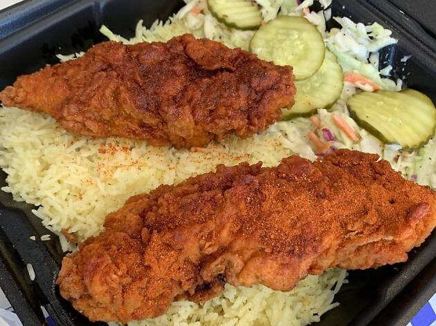 Angry Birdz Nashville style hot chicken