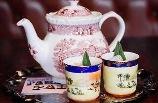 A long island iced tea at the Paradise Palms in Edinburgh