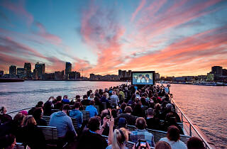 London's only floating outdoor cinema returns to the Thames