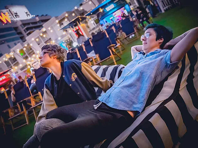 Rooftop Movies at the Montalbán
