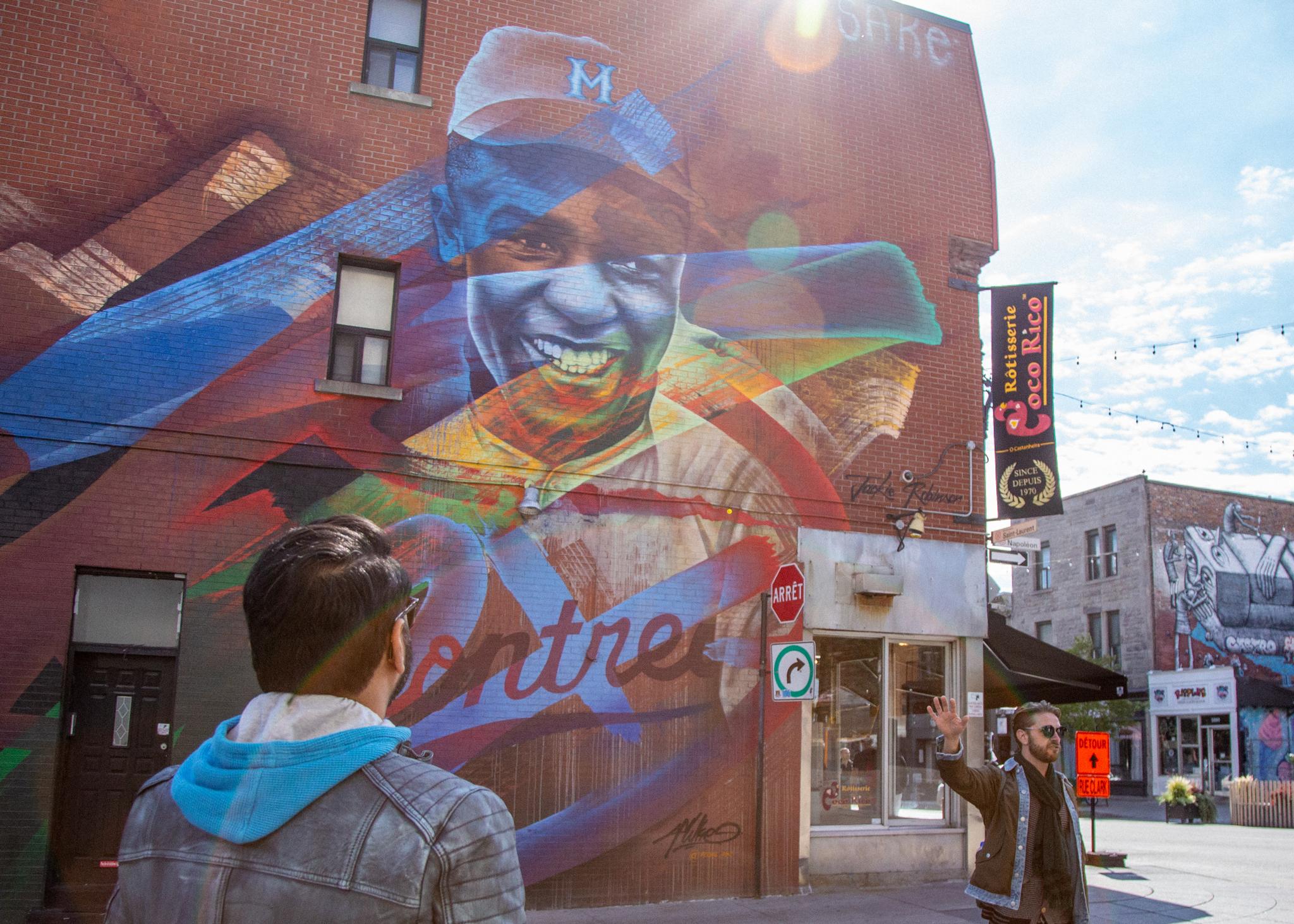"""Jackie Robinson"" Fluke (A'SHOP) / Mural"