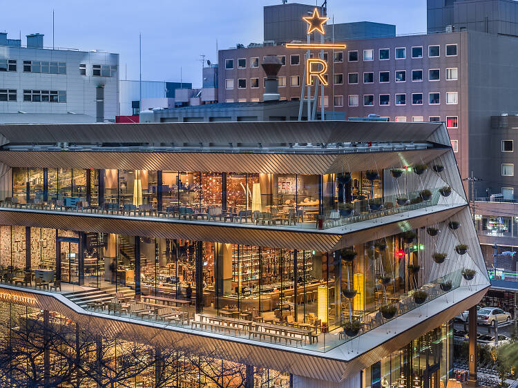 The most beautiful Starbucks in Japan