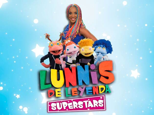 Lunnis de Leyenda Superstars ¡en vivo!