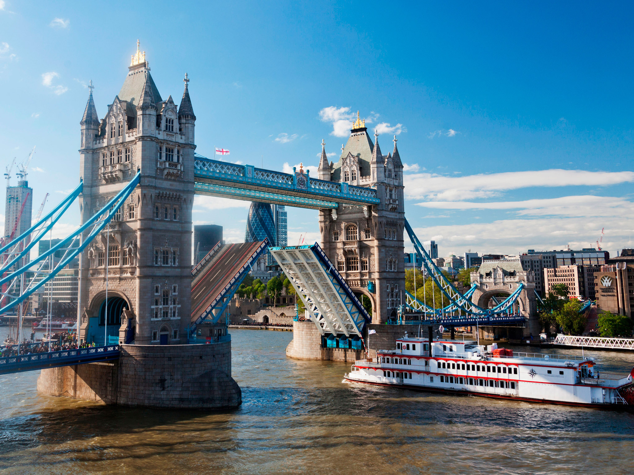 Ever wanted to open Tower Bridge? Here's your chance!