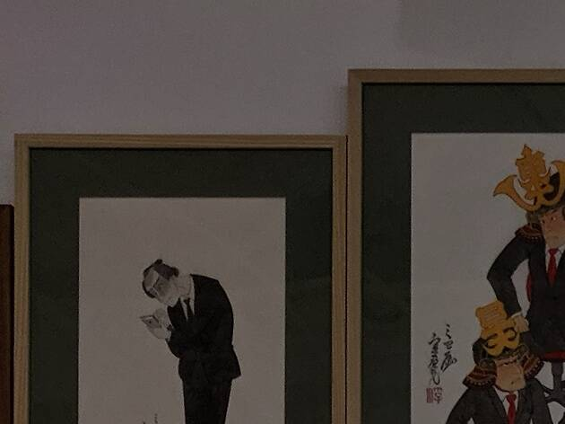 「K11 Art Matsuri 芸術祭」浮世絵調原画展