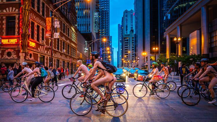world naked bike ride 2019