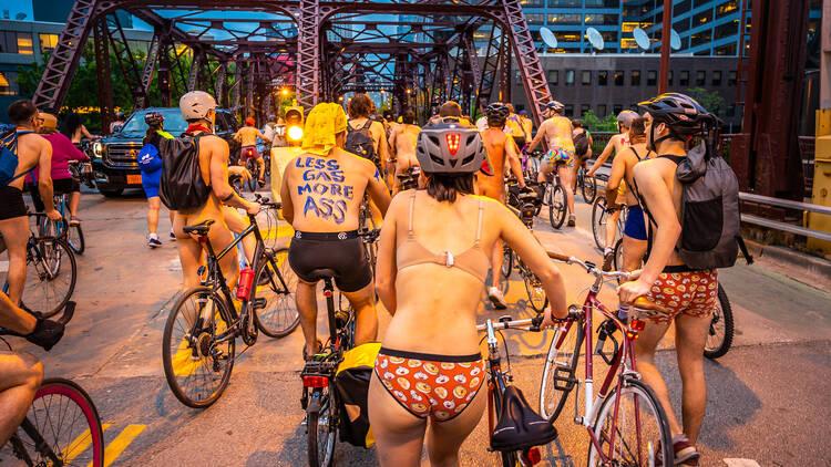 naked bike ride 2019