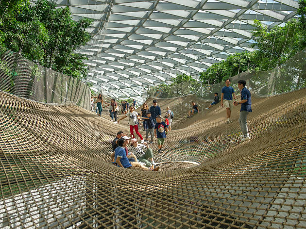 Enjoy three months of unlimited access to Jewel Changi Airport's attractions