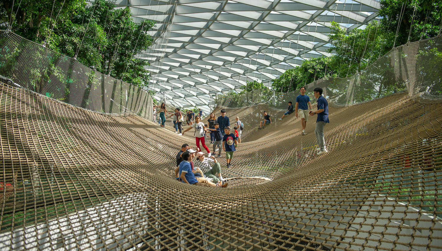 Manulife Sky Nets, Jewel Changi Airport