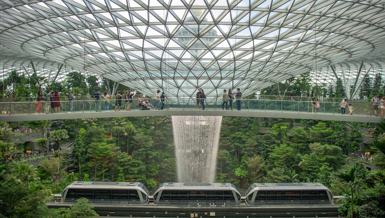 Canopy Bridge, Jewel Changi Airport