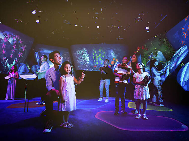 Complete your experience at Changi Experience Studio