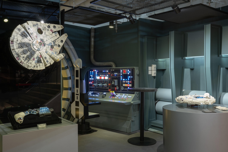 《星球大戰》千歲鷹號概念展館及 1:1 模型空降香港!
