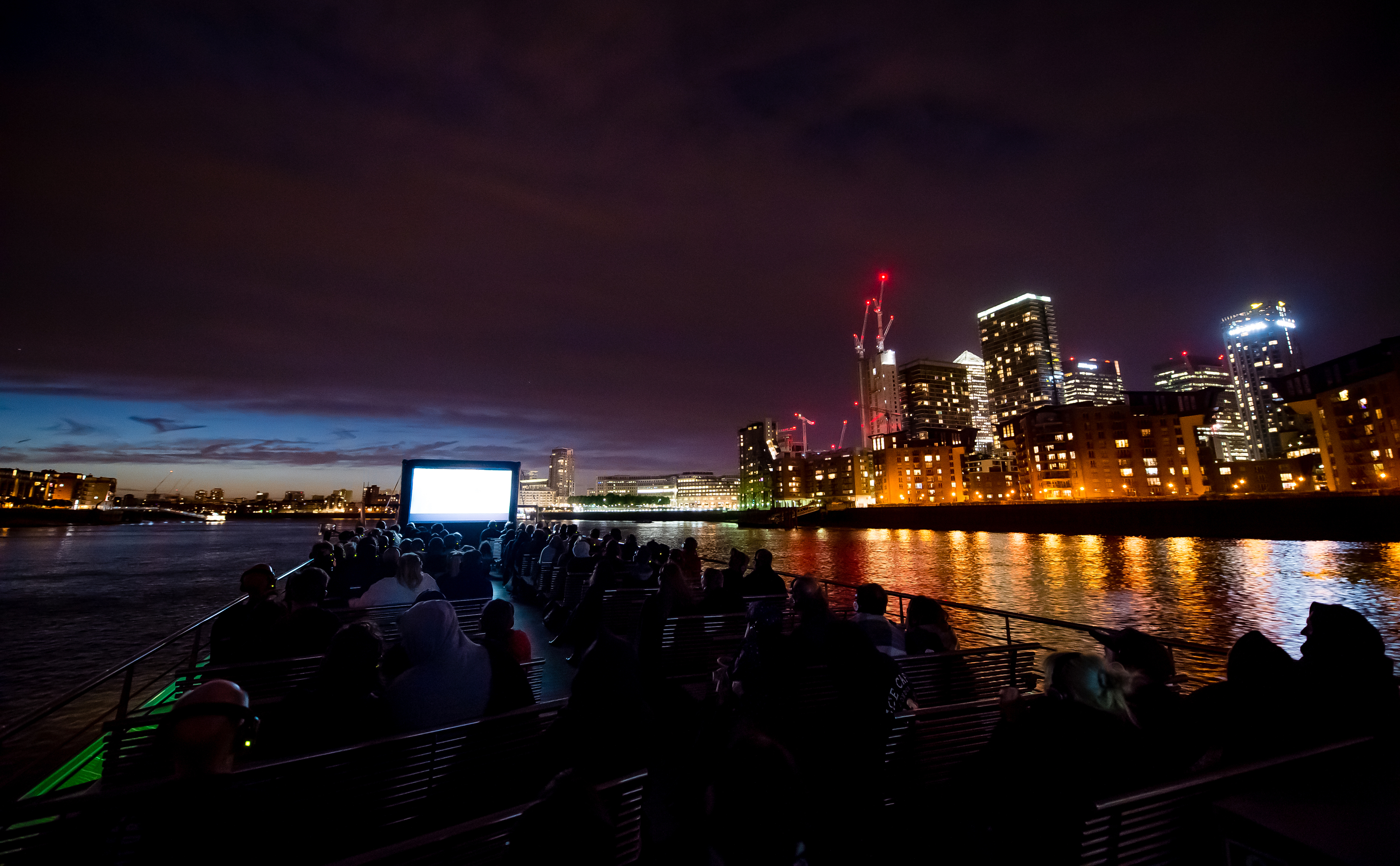 Outside now! This week's Movies on the River films include 'Pretty Woman' and 'Romeo + Juliet'