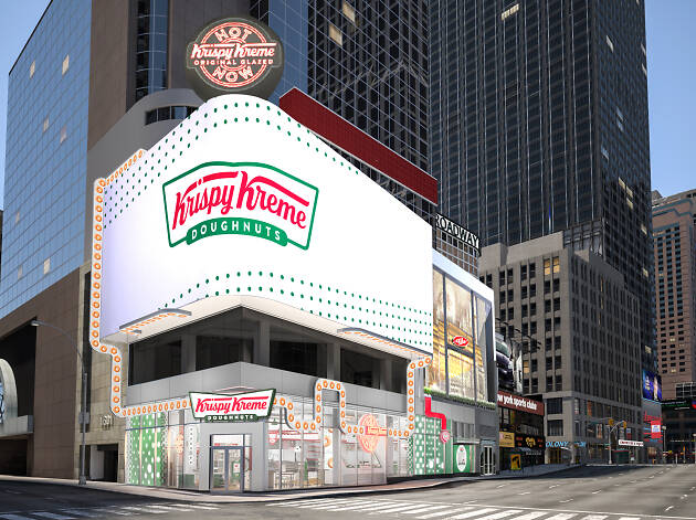 Krispy Kreme is opening a 24-hour flagship store in NYC