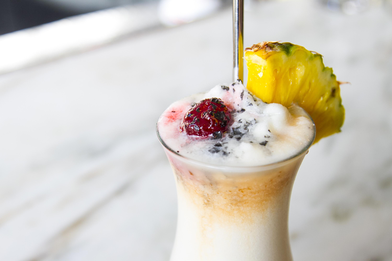 Cassia Santa Monica frozen drinks piña colada