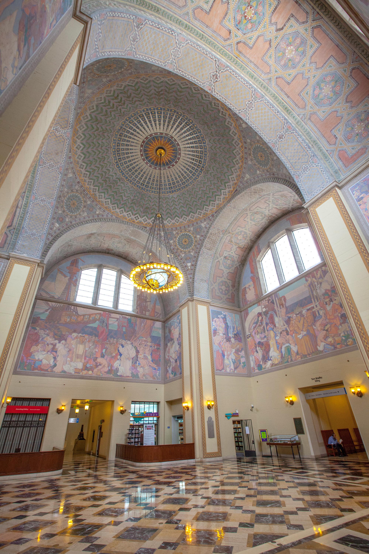 Los Angeles Central Library, art deco buildings