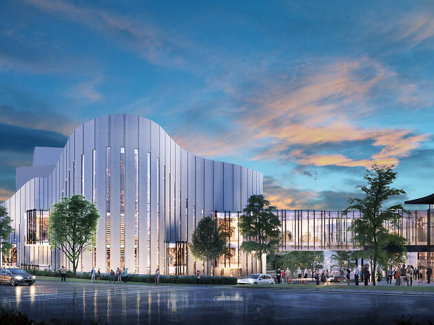 A huge Western Sydney theatre is opening with shows by Tina Arena, Keith Urban and Dame Edna