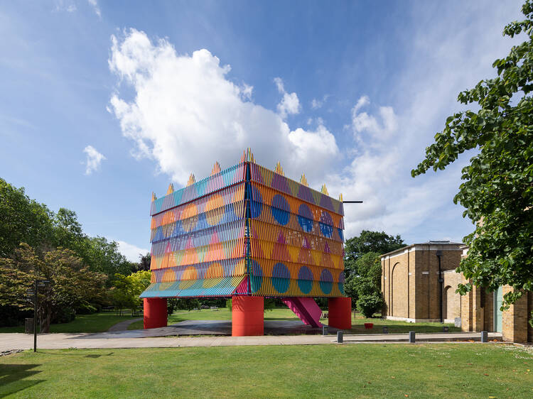 The Colour Palace at Dulwich Picture Gallery