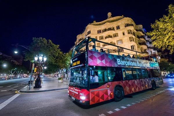 Una ruta nocturna por los puntos más turísticos de Barcelona