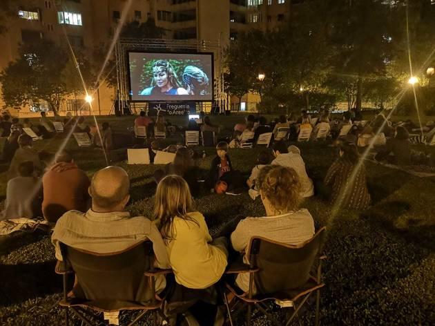 cinema ar livre areeiro