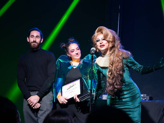 Travestía en time Out Pride Awards 2019