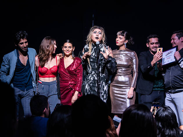 Escandala en Time Out Pride Awards 2019