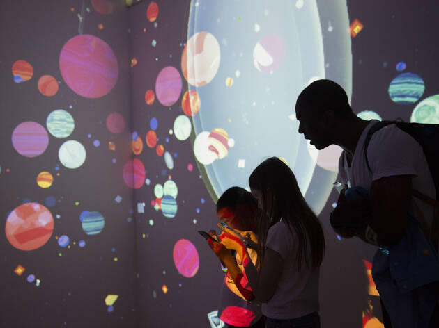 Check out this intergalactic pop-up experience