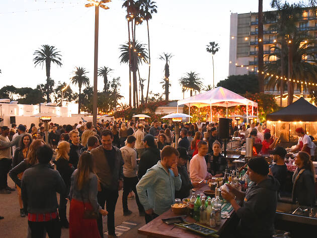 KCRW Night Market at The Bungalow Santa Monica summer 2019