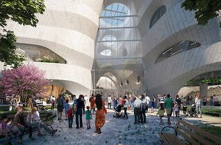 The Museum of Natural History's expansion project is officially underway