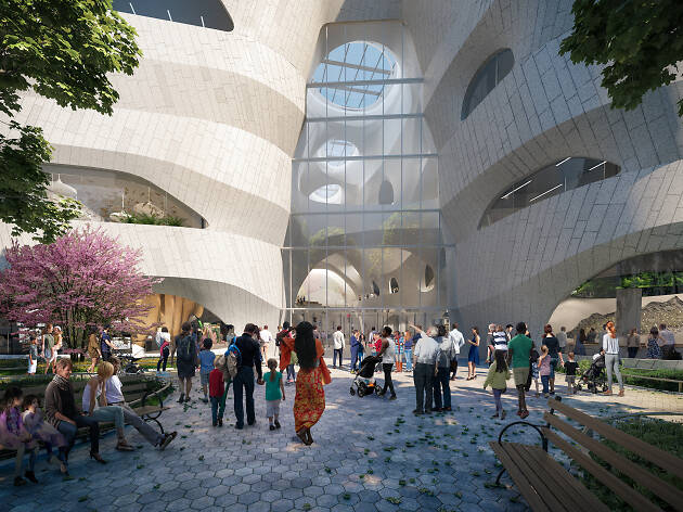 Museum of Natural History's expansion project is underway