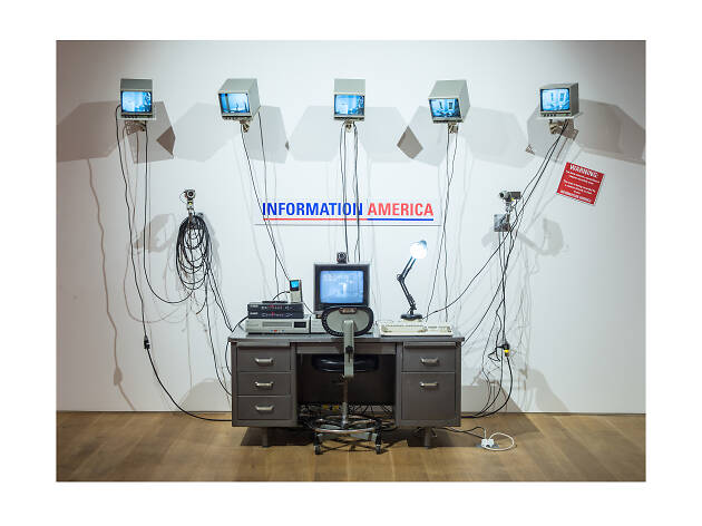 Julia Scher's work foresaw our world of privacy invasion