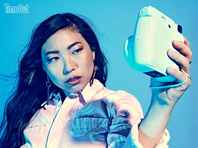 All hail Awkwafina, the Queen of Queens