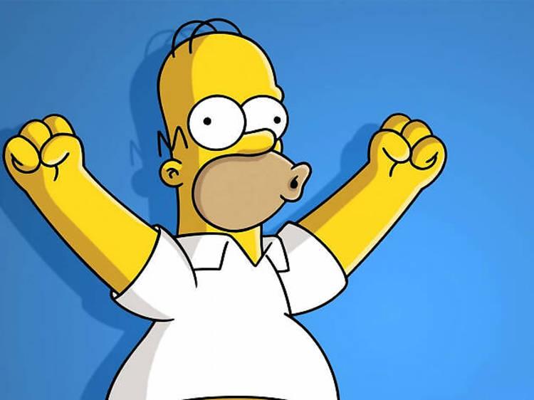 Homero Simpson de Los Simpson