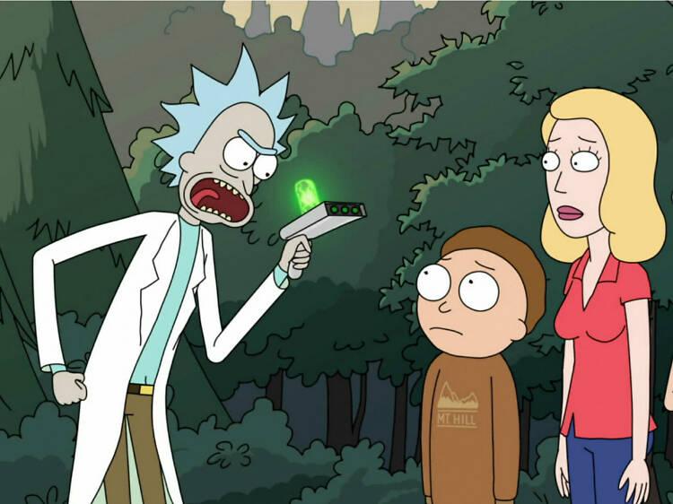 Rick de Rick y Morty