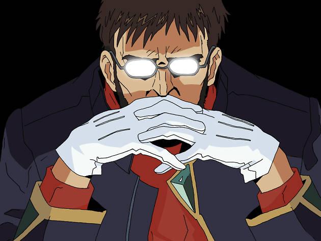 Gendo Ikari de Neon Genesis Evangelion
