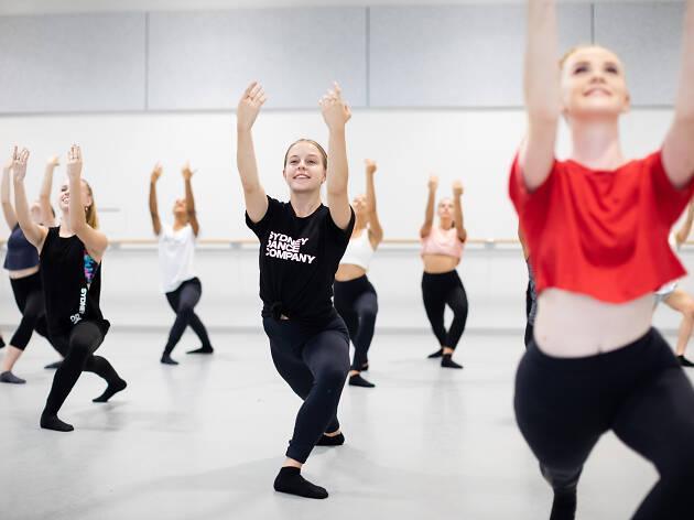 Sydney Dance Company school holiday workshops