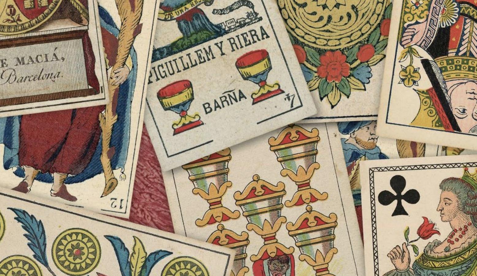 Una mà de cartes. Col·lecció de naips de l'Arxiu Històric de la Ciutat de Barcelona (1529-1988)