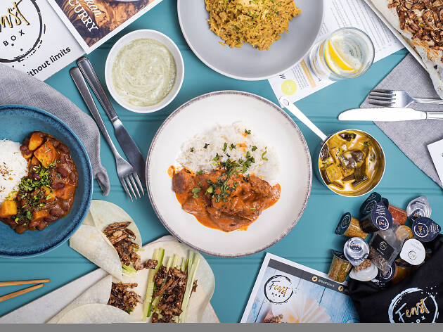 Win a month's supply of meal kits from Feast Box