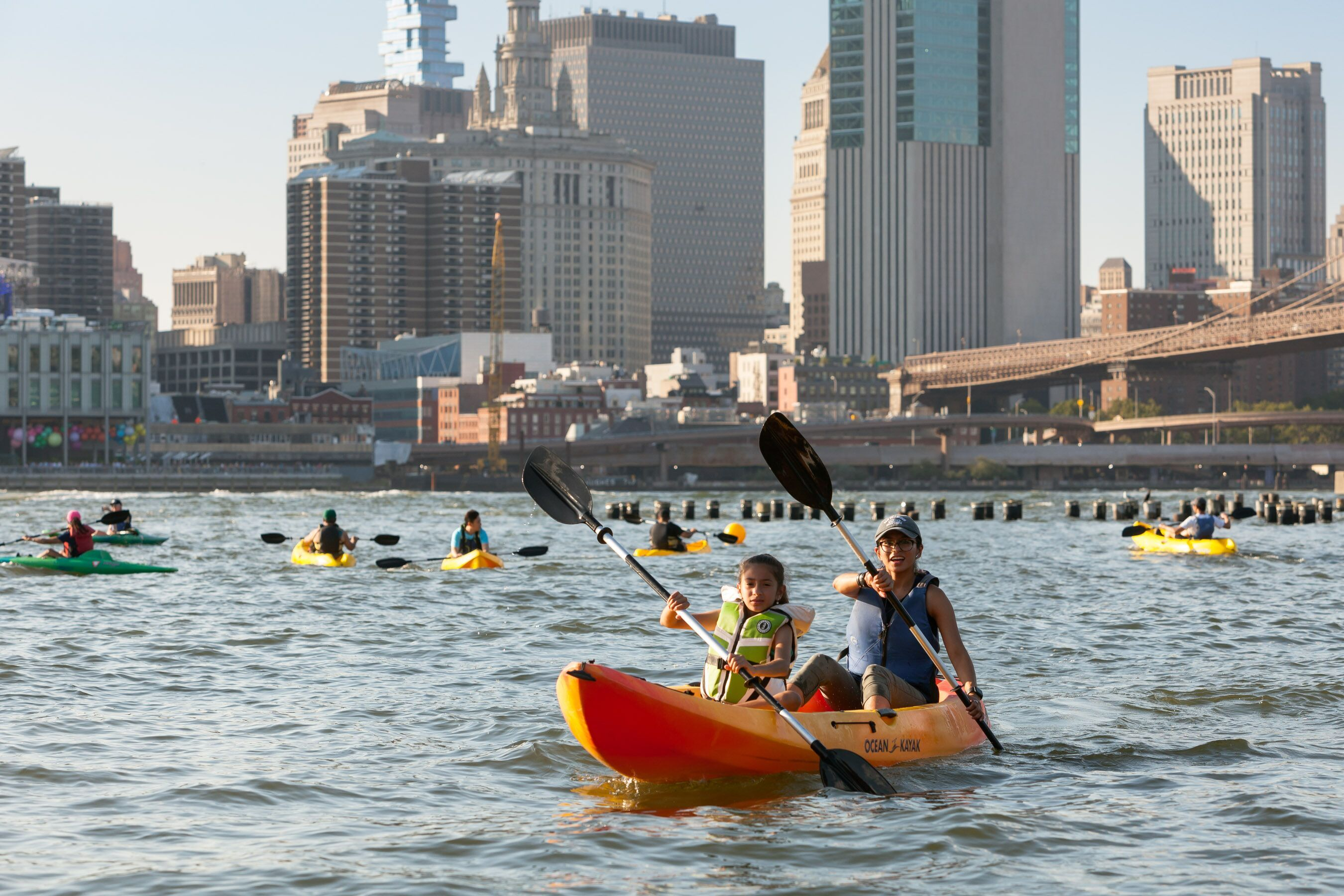 The best free kayaking spots in NYC